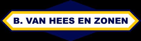 B van Hees en zonen sterk in en om het water - logo