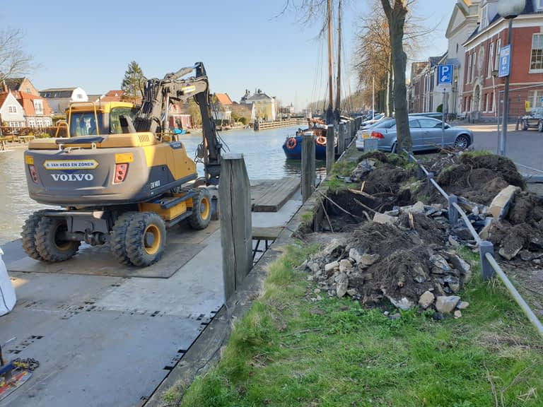 van Hees aannemer waterbouw: